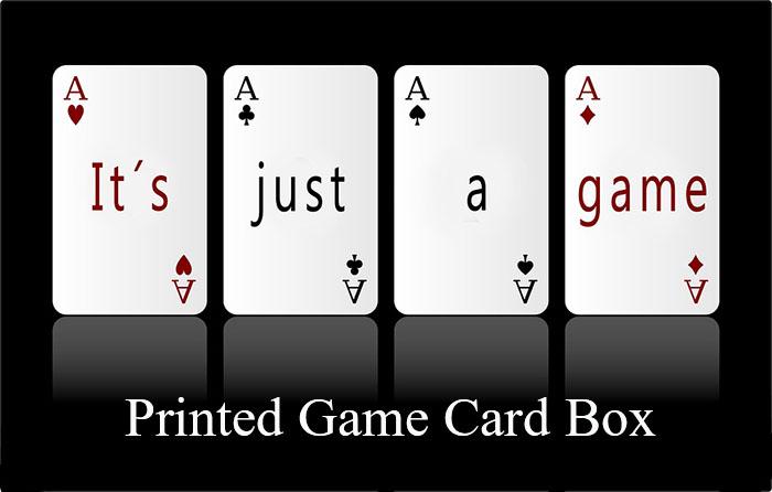 Game Card Box