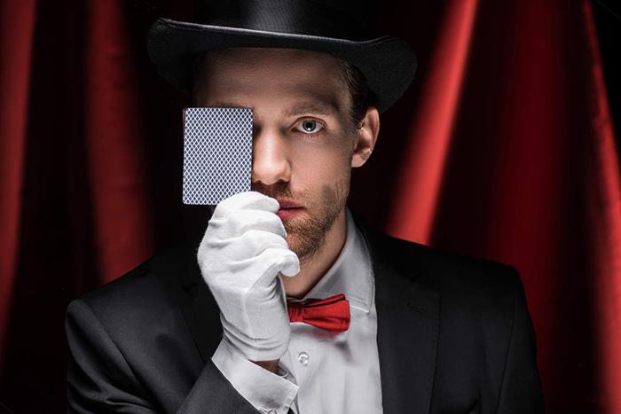 Magic Playing Card Packaging