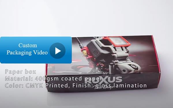 Custom Packaging Box Video