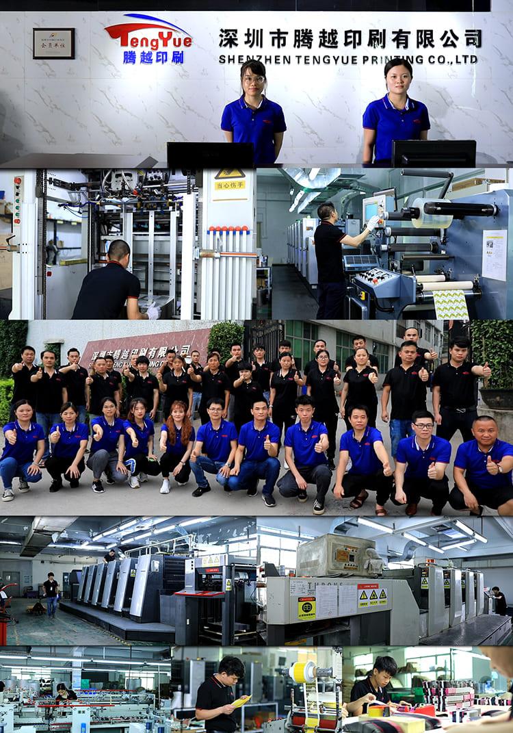 Packaging&Printing Team-Factory
