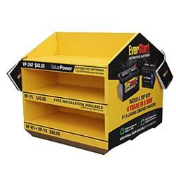 Counter Cardboard Display Box