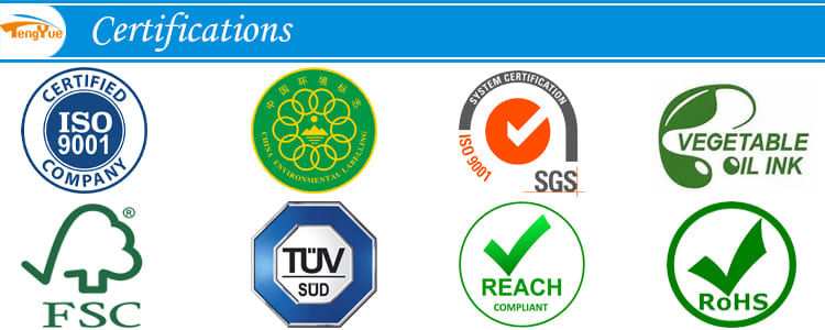Quality Certifications For Packaging&Printing